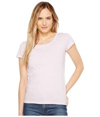 Calvin Klein Jeans Essential Scoop Neck T Shirt Opal Pink Women's Clothing
