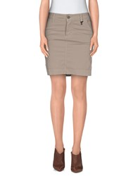 Roy Rogers Roy Roger's Choice Skirts Mini Skirts Women Beige