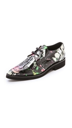 Mcq By Alexander Mcqueen Kim Derby Oxfords Festival Floral