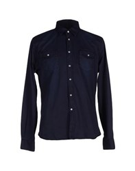 Individual Shirts Shirts Men Dark Blue
