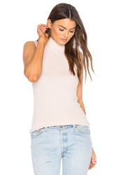 Atm Anthony Thomas Melillo Sleeveless Mock Neck Top Pink