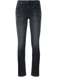 Current Elliott Tapered Jeans Black