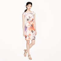 J.Crew Collection Greta Dress In Floral Taffeta