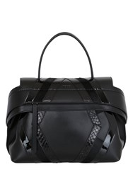 Tod's Wave Leather And Python Bag For Lvr