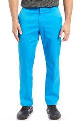 Nike Men's Flat Front Dri Fit Tech Gold Pants Photo Blue Photo Blue