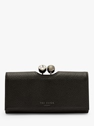 Ted Baker Solange Leather Matinee Purse Black