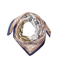 San Diego Hat Company Bss3539 Square Woven Scarf With Paisley Print Blue Scarves