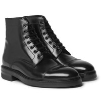 Paul Smith Master Polished Leather Boots Black