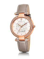 Folli Follie Santorini Flower Mop Grey Watch