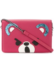 Hysteric Glamour Bear Mini Bag Pink And Purple