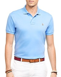 Ralph Lauren Soft Touch Slim Fit Polo Island Blue