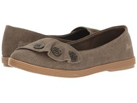 Blowfish Garden Brown Rancher Canvas Women's Slip On Shoes Taupe