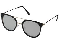 Steve Madden Petunia Black Fashion Sunglasses