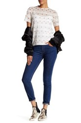 Marc By Marc Jacobs Ella Skinny Crop Jean Blue