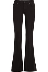 Tom Ford Mid Rise Flared Jeans Black