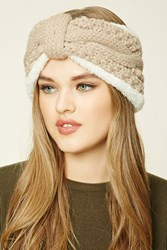 Forever 21 Bow Front Knit Headwrap