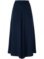 P.A.R.O.S.H. Panterax Wide Leg Trousers Blue