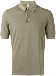Eleventy Classic Polo Shirt Green