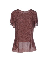 Devotion Shirts Blouses Women Brown