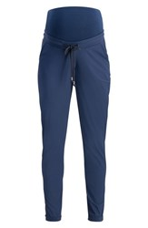 Noppies Aranka Over The Belly Maternity Pants Navy