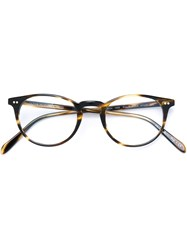 Oliver Peoples 'Riley R' Glasses Black