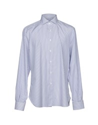 Mattabisch Shirts Blue