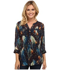 Ariat Catori Tunic Multi Women's Short Sleeve Pullover