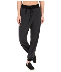 Hard Tail Wrap Over Pants Black Women's Casual Pants