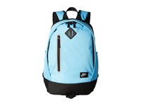 Nike Young Athletes Cheyenne Solid Backpack Polarized Blue Black Matte Silver Backpack Bags