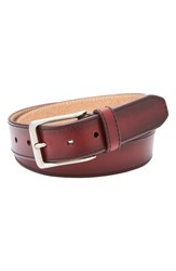 Fossil Men's Griffin Leather Belt Cordovan