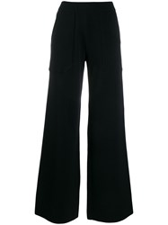 Mrz Flared Knit Trousers 60