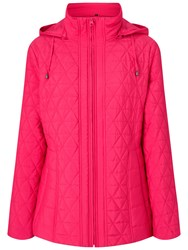 Four Seasons Quilted Jacket Hot Pink
