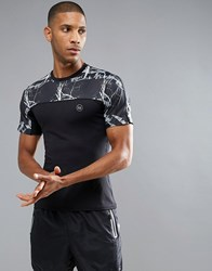 Influence Active T Shirt Black