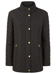 Windsmoor Dogtooth Short Raincoat Black