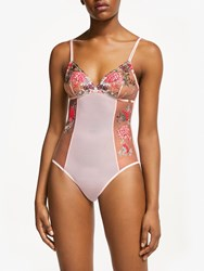 And Or Harper Lace Body Cloud Pink Neon