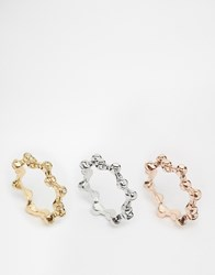 Designsix Bobble Multipack Rings Multi