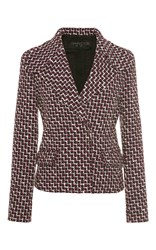 Giambattista Valli Wool Blazer Red