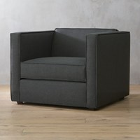Cb2 Club Chair