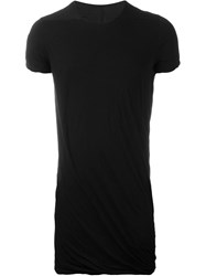 Rick Owens Drkshdw Draped T Shirt Black