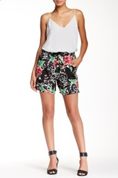 Lily White Longer Soft Short Juniors Black
