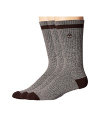 Timberland Marled 2 Pack Crew Socks Brown Crew Cut Socks Shoes