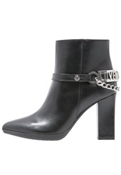 Love Moschino High Heeled Ankle Boots Nero Black
