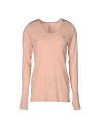Lucas Hugh T Shirts Light Pink