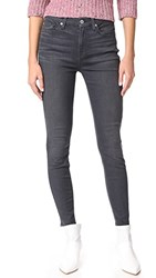 7 For All Mankind The B Air Hw Ankle Skinny B Air Smoke