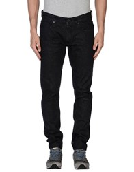 Mauro Grifoni Denim Denim Trousers Men Black