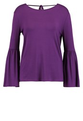 Evenandodd Long Sleeved Top Dark Purple