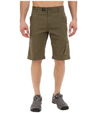 Prana Stretch Zion Short Cargo Green Men's Shorts