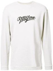 Myne Logo Sweatshirt Brown