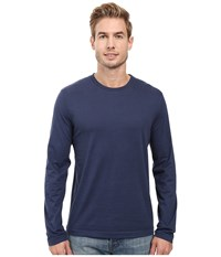 Mod O Doc Carlsbad Long Sleeve Jersey Crew Tee New Navy T Shirt