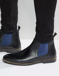 Red Tape Chelsea Boots In Black Black